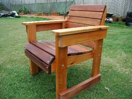 Cedar Chair - Deckside