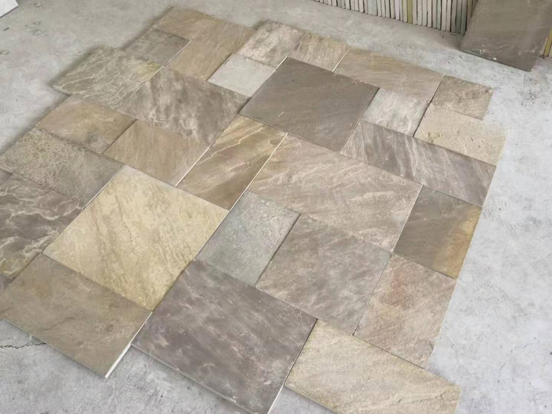 Appalachian Buff Sandstone Pavers