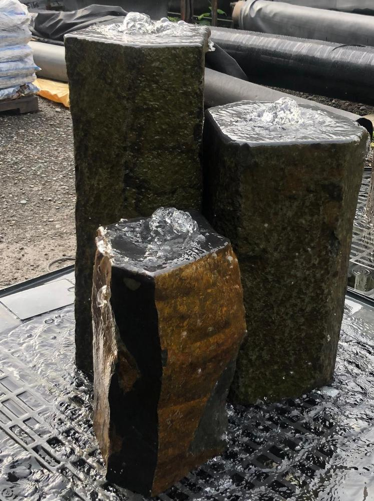 Natural Basalt Column Water Feature Kits