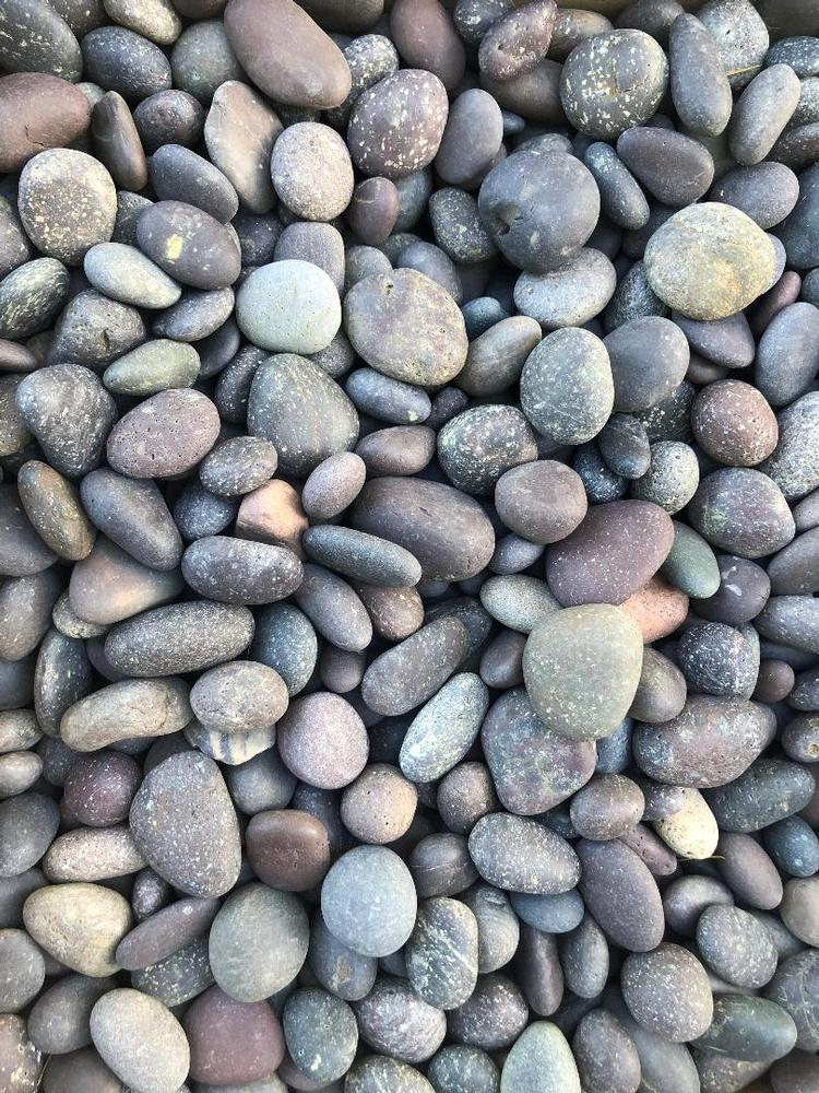 Mexican Pebbles - Burgundy (75 lb. bags)