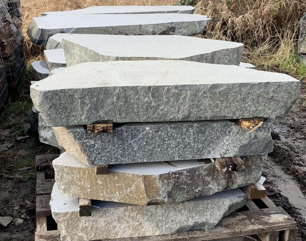 Sawn Granite Risers