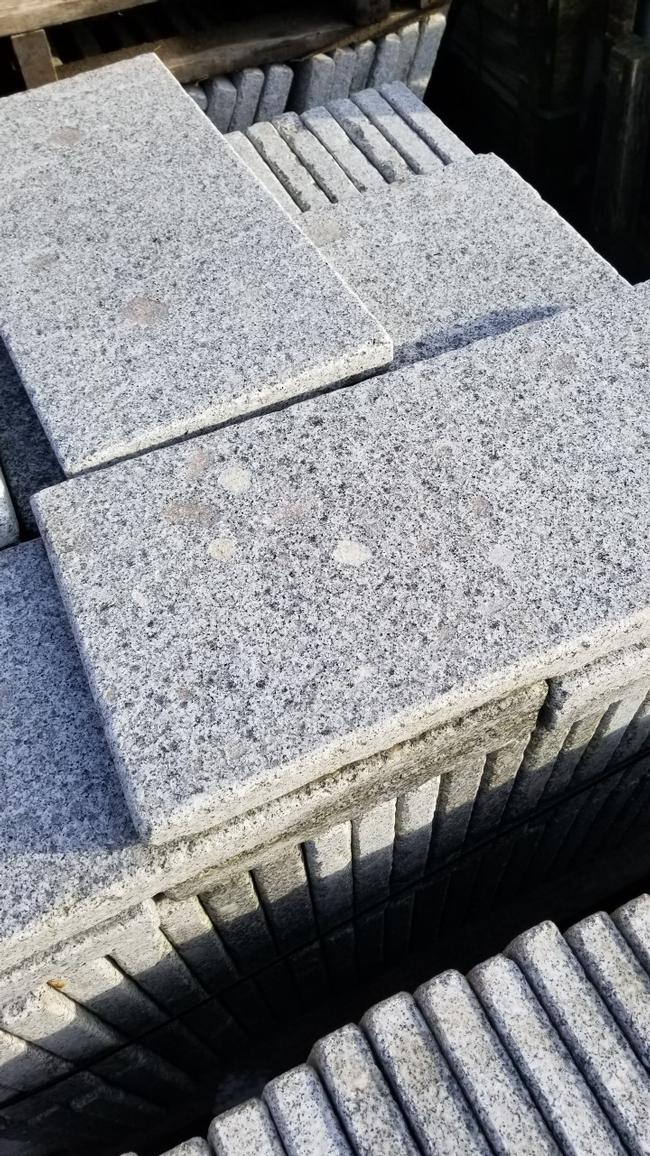 Salt and Pepper Granite Eased Edge Pavers